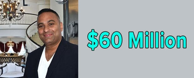 Russell Peters' net worth is $60 Million