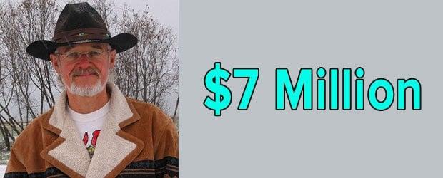 Atz Kilcher's net worth is $7 Million