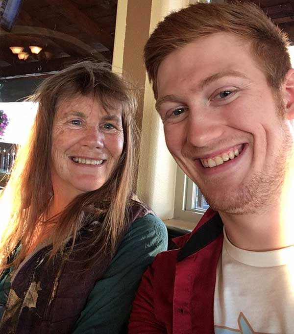 Mother and Son Duo: Charlotte Kilcher and her son August Kilcher