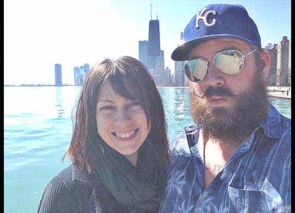 Danielle Colby andHer Boyfriend Jeremy Scheuch in Chicago