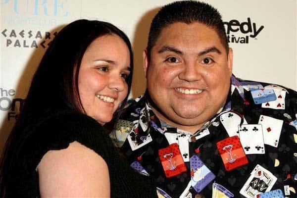 Gabriel Iglesias with his girlfriend Claudia Valdez