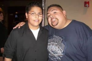 Gabriel Iglesias and his son Frankie Iglesias