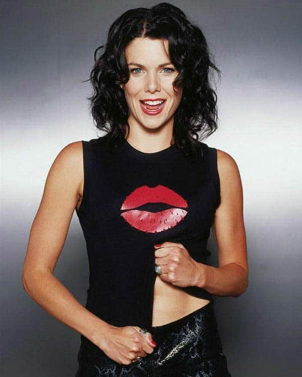 Beautiful: Lauren Graham seems attractive