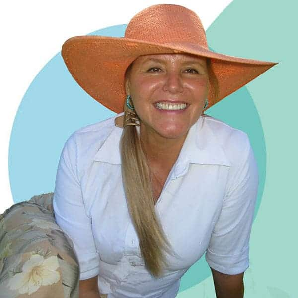 Atz Kilcher wife Lenedra Carroll in red hat and white shirt