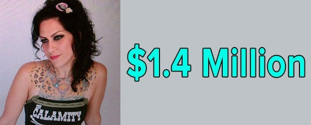 Danielle Colby Net worth is $1.4 Million