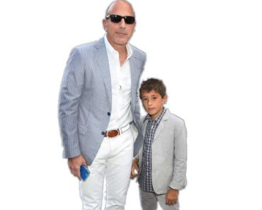 Thijs Lauer, son of Matt Lauer
