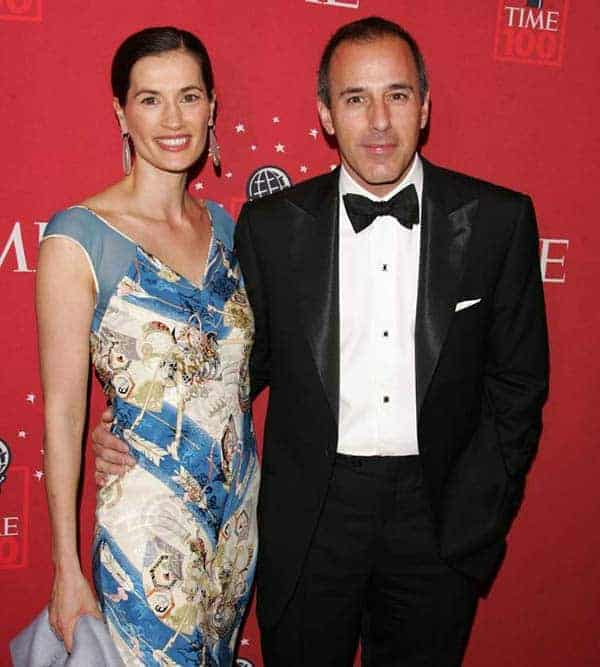 Thijs Lauer's father Matt Lauer and mother Annette Roque