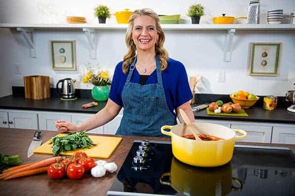 Amanda Freitag on kitchen