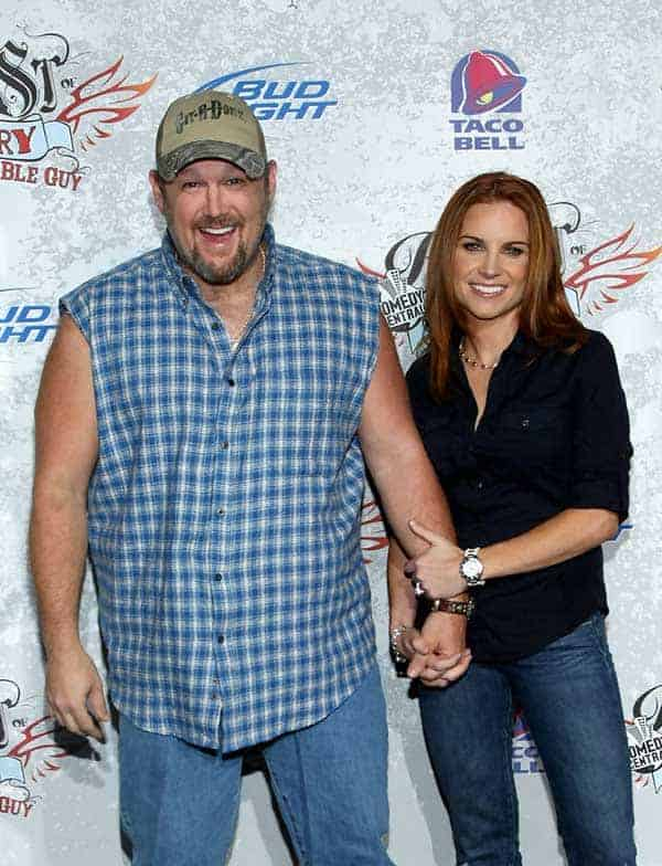 Larry The Cable Guy & Carra Whitney