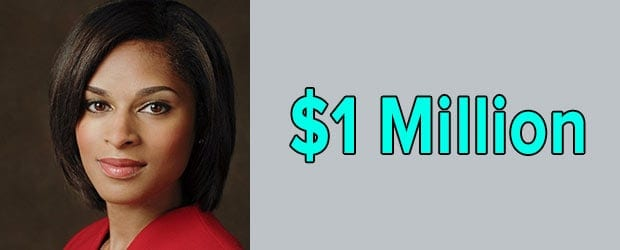 Jericka Duncan's net worth is $1 Million