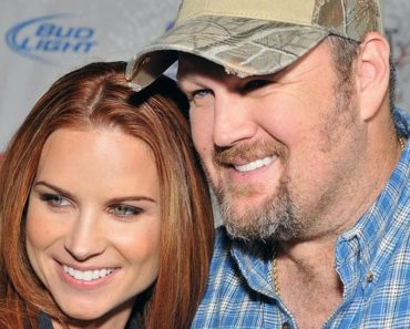 Cara Whitney and Larry the Cable Guy. The Beautiful couple