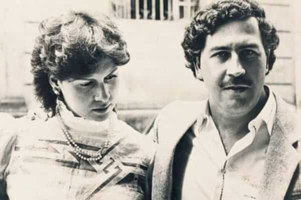 Maria Victoria Henao and her husband Pablo Escobar