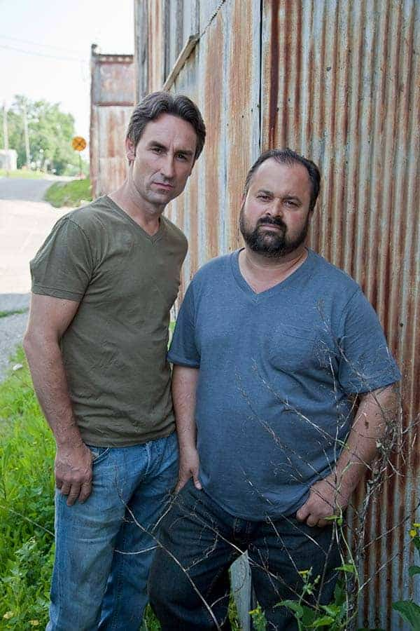 Mike Wolfe and Frank Fritz from American picker