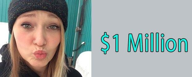 Monica's net worth is $1 million Huge Net-worth of Young Girl