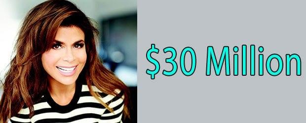 Paula Abdul Net Worth $30 Million