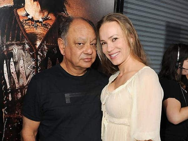 Cheech Marin and Natasha Rubin