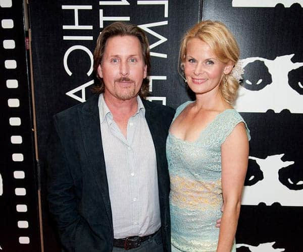 Sonja Magdevski and her husband Emilio Estevez