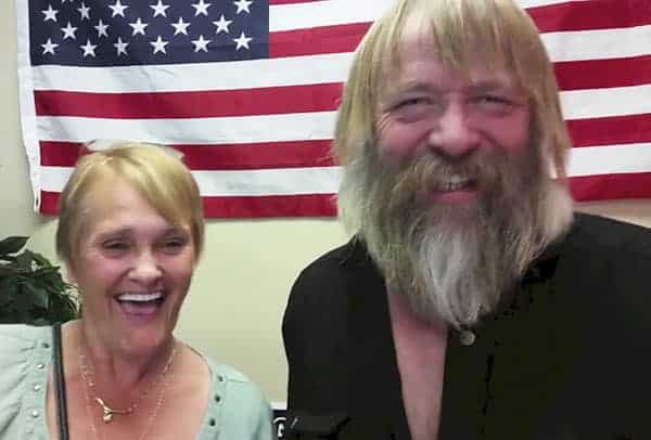 Happy Couple: Tony Beets seems happy together with his wife Minnie Beets