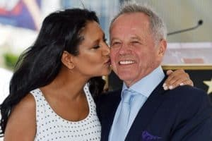 Chef Wolfgang Puck With his wife Gelila Assefa.