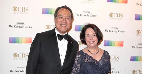 Yo-Yo Ma With his Wife Jill Hornor