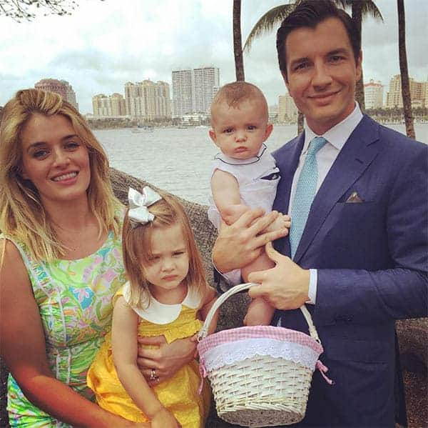 John Jovanovic and Daphne Oz With Their Kids