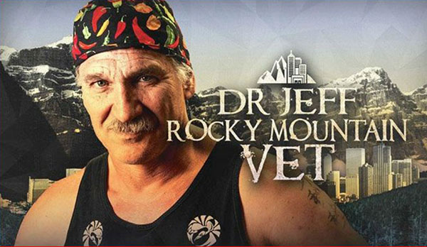 Dr. Jeffrey Young on the show Rocky mountain vet