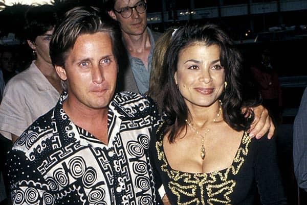 Emilio Estevez with his Ex-Wife Paula Abdul