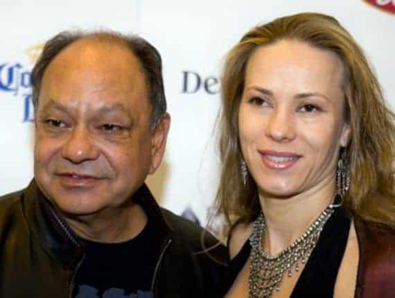 Cheech Marin & Darlene Morley