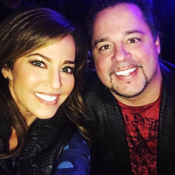 lovely couple Tim Yeager and Robin Meade
