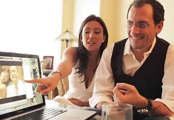 Julie Banderas And Her Husband Andrew Sansone