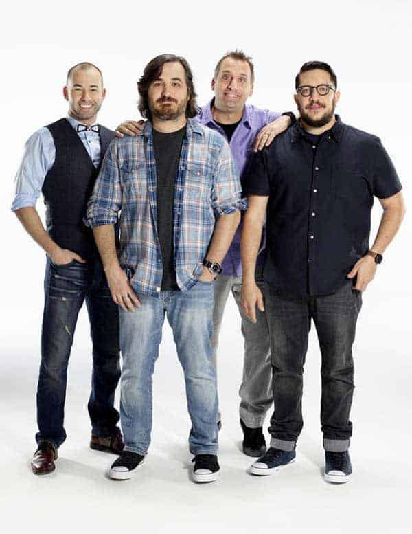 Team of 'Impractical Jokers'