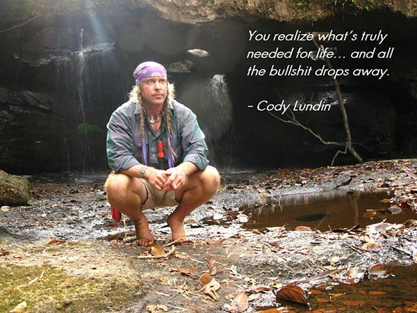 Cody Lundin is in Relationship Provably with his career only.