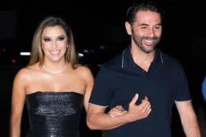 Eva Longoria pregnant with her husband Jose Bason