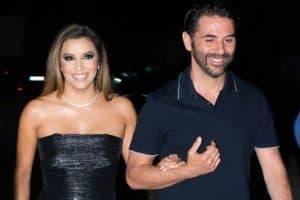 Eva Longoria pregnant with her husband Jose Bason