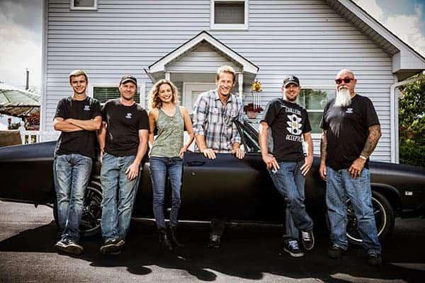 Garage Squad cast