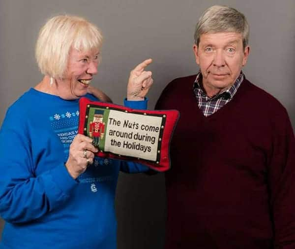 Joe Kenda With His Wife Mary Kathleen Mohler Kenda