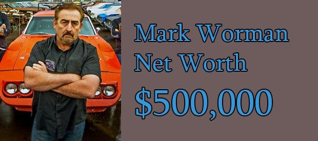 Mark Worman's Net Worth is $500 Thousand american Dollar