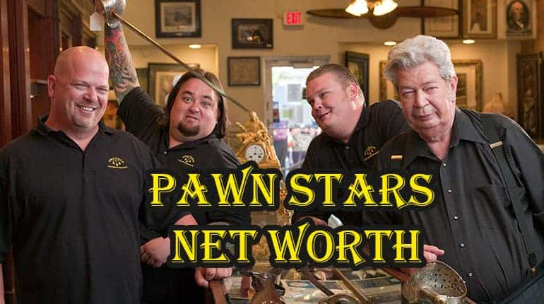 Pawn Shop Austin >> Pawn Stars Cast Net Worth and Salary - WikicelebInfo