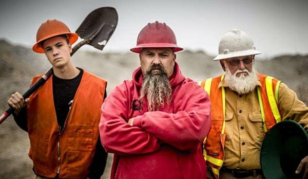 Reality Television Series 'Gold Rush' cast salaries