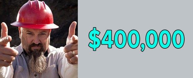 Todd Hoffman's net worth is $400,000