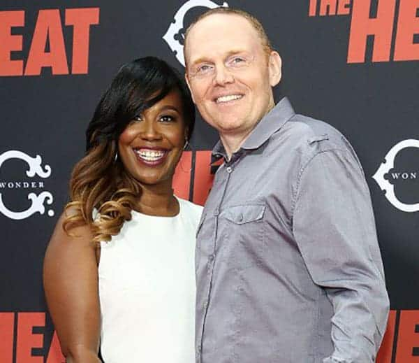 Bill Burr with his wife Nia Renee Hill
