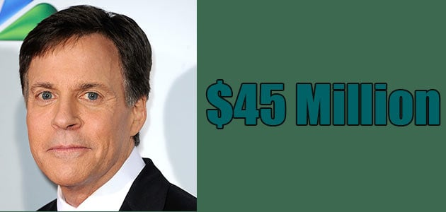 Bob Costas is very rich