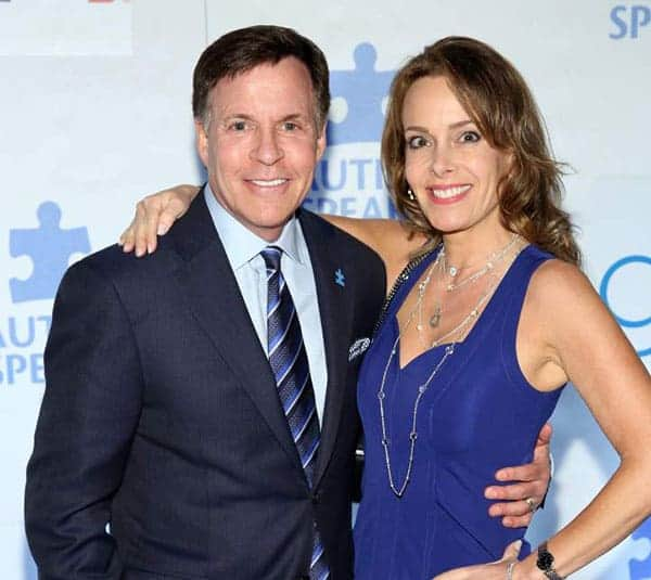 Bob Costas with second wife Jill Sutton