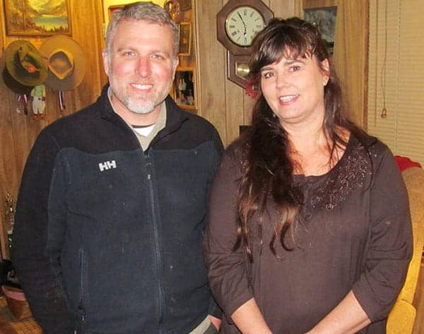 Cliff Barackman with his lovely wife Melissa Barackman
