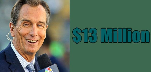 Cris Collinsworth Net Worth is $13 Million