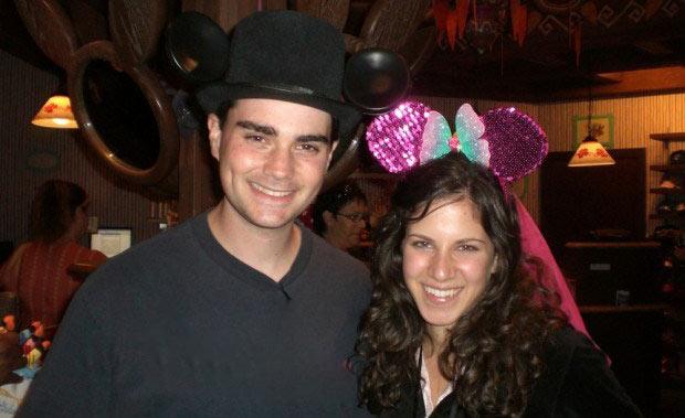 Mor Shapiro with her husband Ben Shapiro