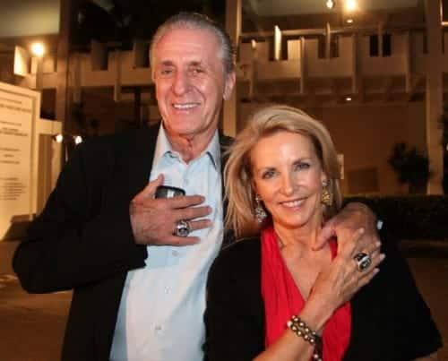 Pat Riley's wife Chris Rodstrom