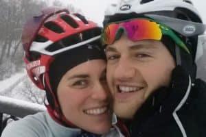 Patrick Lemieux and Gwen Jorgensen