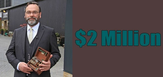 Paul Laidlaw Net Worth is around $2 Million
