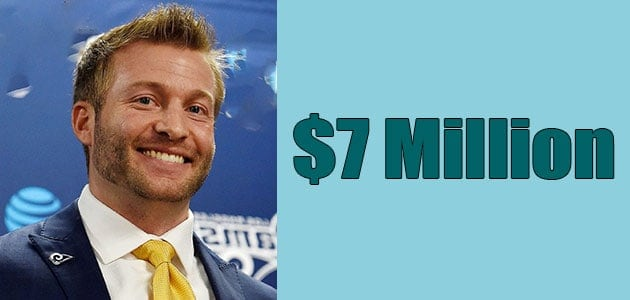 Sean Mcvay Net Worth is $7 Million